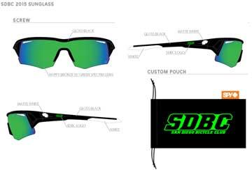 SDBC Custom SPY Sunglasses