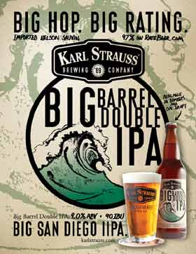 Karl Straus Big Barrel Double IPA