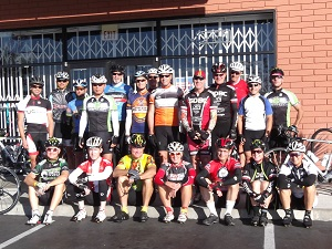 Click for larger image of last week's riders
