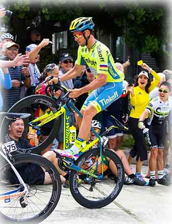 Click for larger image - Tinkoff's Adam Blythe on Laurel