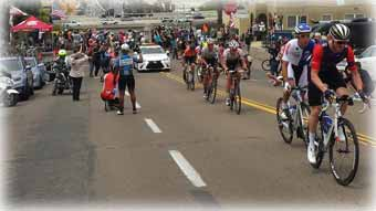 Click for larger image - Peloton on Laurel