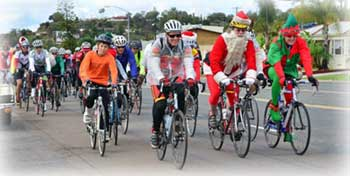 Image of toy ride participants