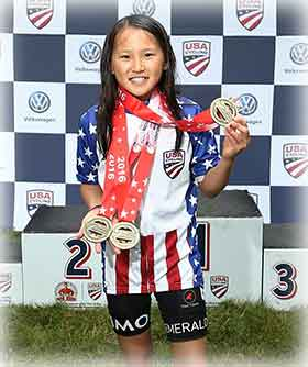 Natalie Wang -  1st (National Champion)
