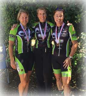 Women's team members at Bakersfield